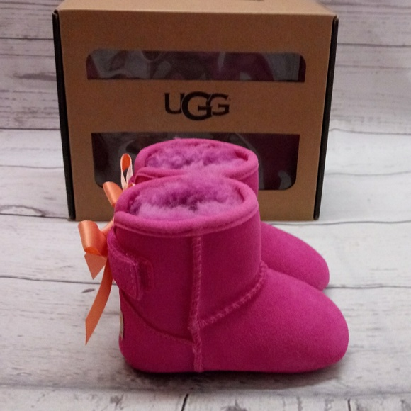e287daab99f UGG I JESSE BOW 10064831 inf / ppnk boots baby NWT